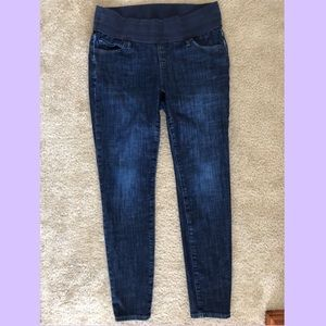Maternity Skinny Jeans with Elastic Waist